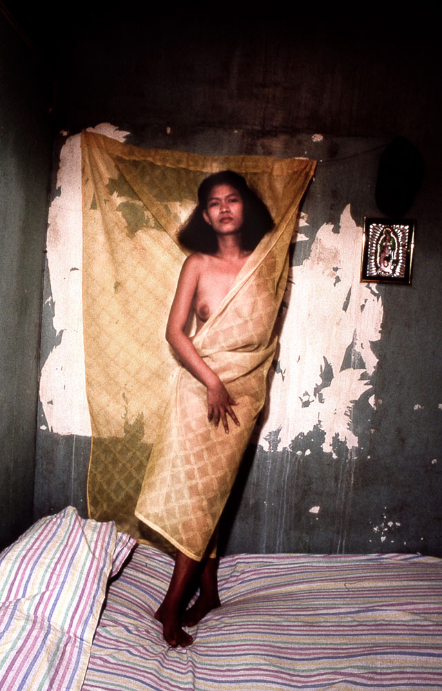 Philippines, Angeles City, véritable sanctuaire de la prostitution (Chambre de prostituée)