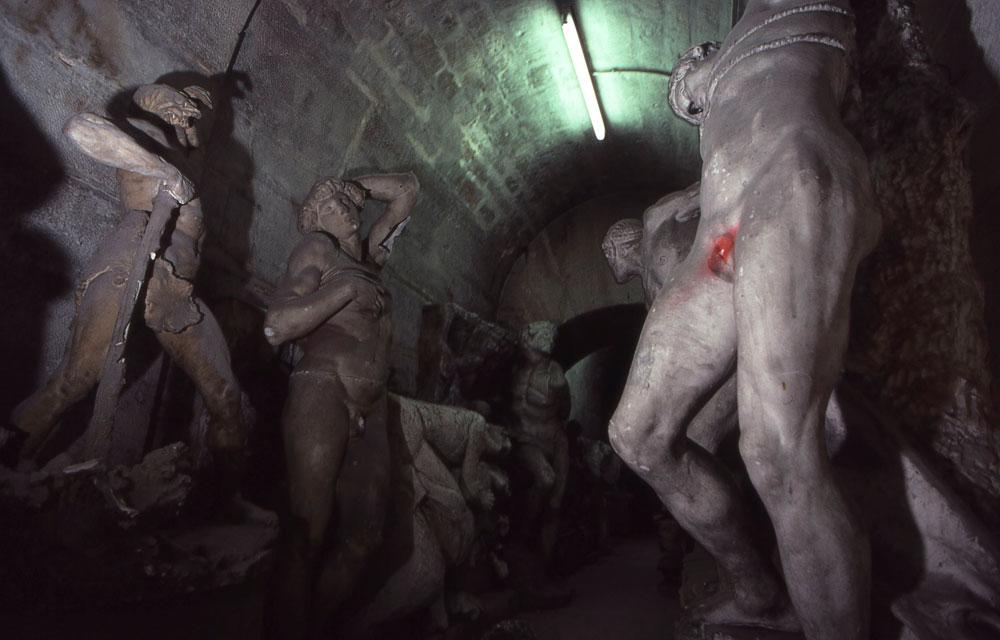 Dans les caves de l'Ecole des beaux-arts