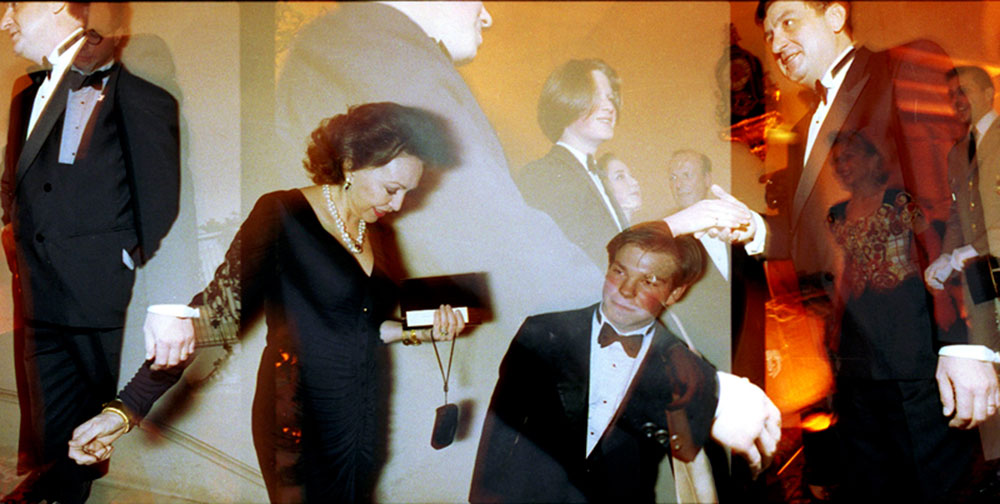 Réception de la famille Rothschild