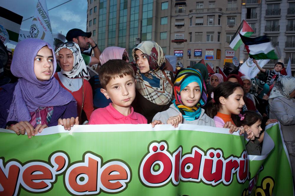 Manifestation de religieux, anti Bashar El-Assad
