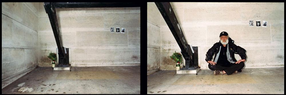 Chez un SDF, quais de Seine