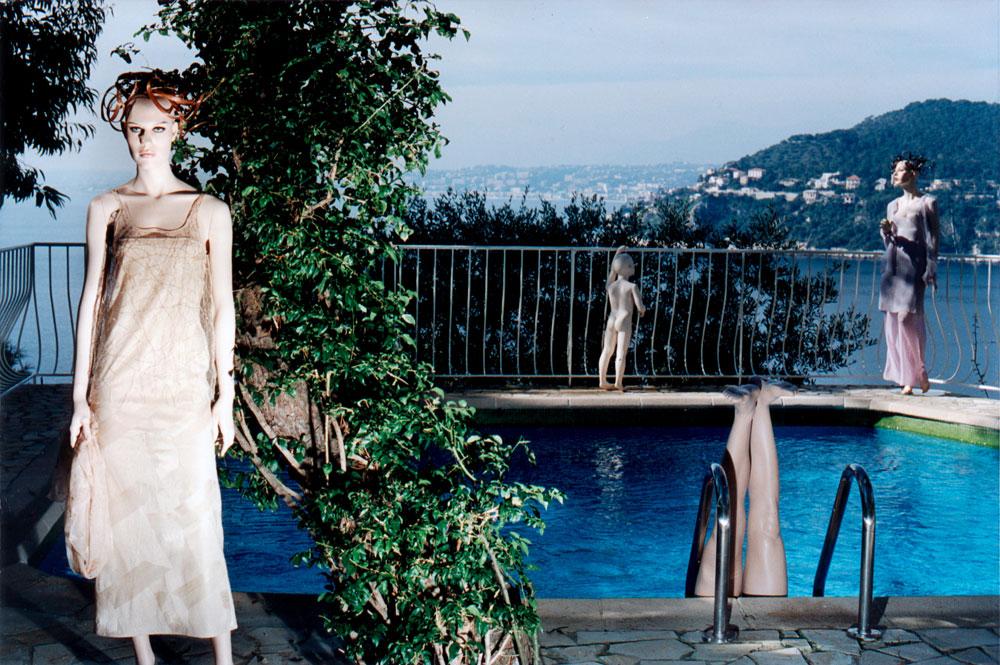 Mannequins de cire, pour une série près de Nice
