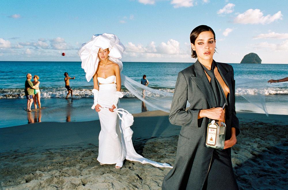 Série, avec rhum et mariée, en Martinique