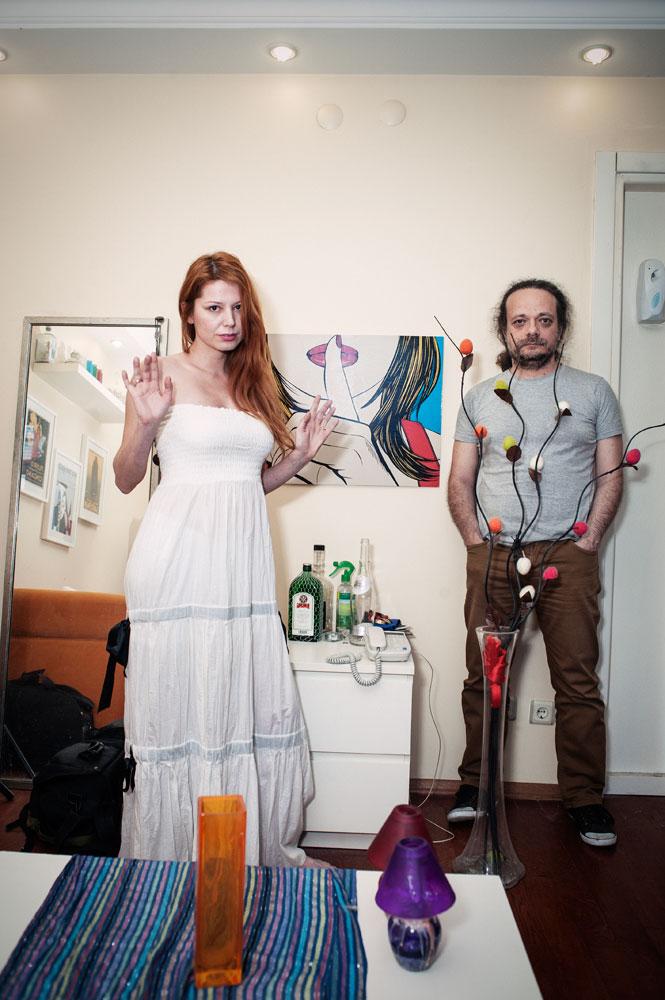 Chez un jeune couple
