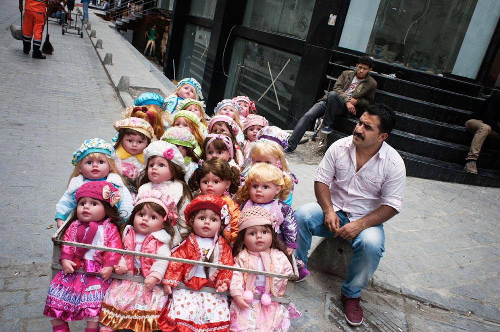 Vendeur de poupées